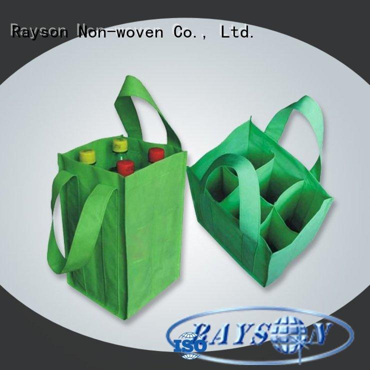 rayson nonwoven,ruixin,enviro recycling non woven company handle for zipper