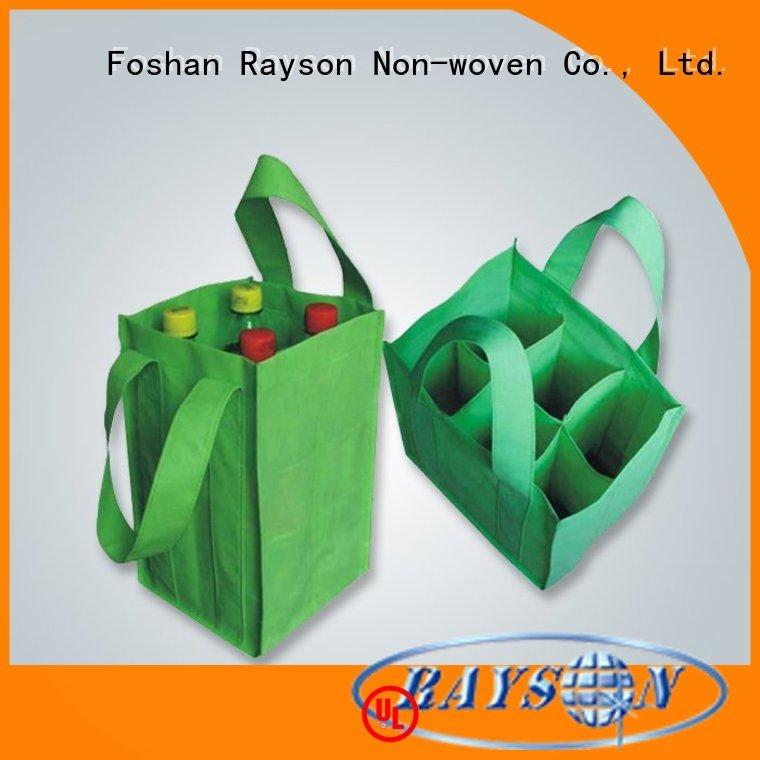 cutting window bagnon gsm non woven fabric rayson nonwoven,ruixin,enviro manufacture