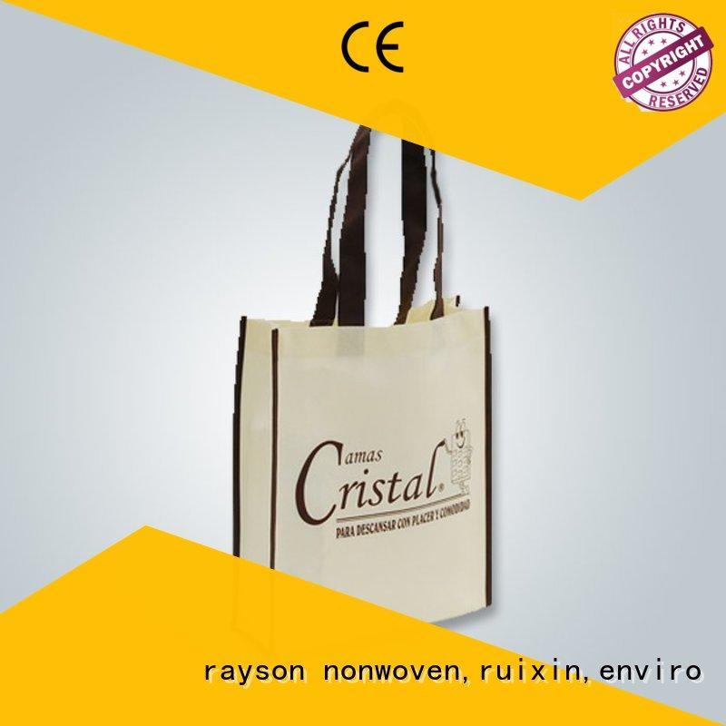apron bag nonwoven fabric manufacturers red rayson nonwoven,ruixin,enviro Brand company