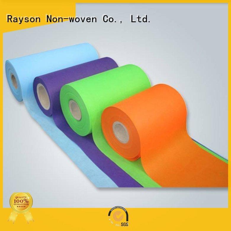 غير المنسوجة الأقمشة قائمة nonwovenpolypropylene للتغليف rayson محبوكة ، ruixin ، بيئى