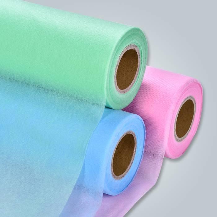 Vlies Textilhersteller, gesponnen verklebt nicht gewebten Stoff, nicht gewebte Tuch
