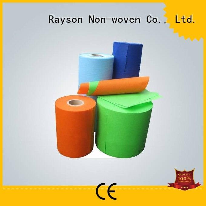 Quality rayson nonwoven,ruixin,enviro Brand wovenpolypropylene non woven weed control fabric