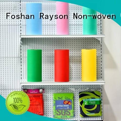 Wholesale gsm table non woven weed control fabric rayson nonwoven,ruixin,enviro Brand
