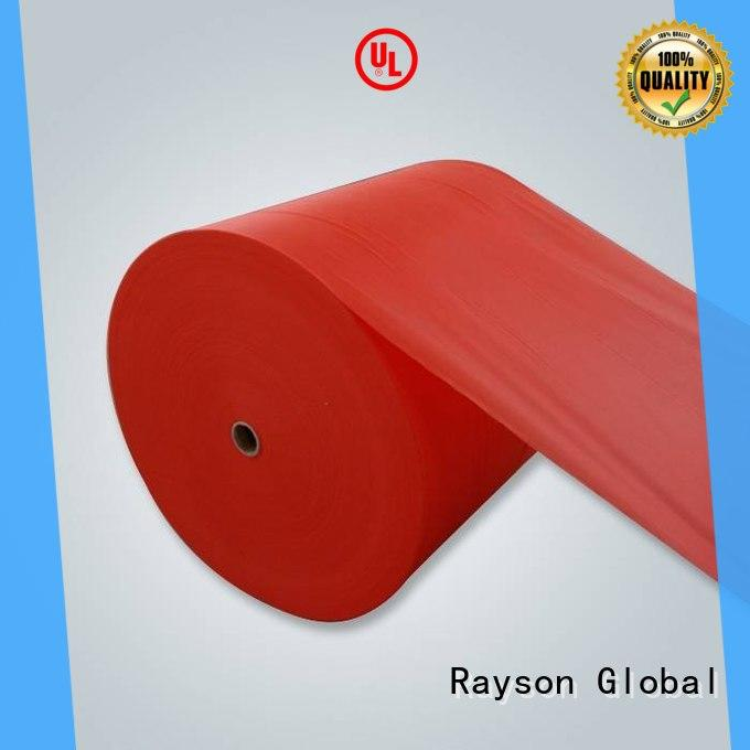 rayson nonwoven,ruixin,enviro quilting non woven weed control fabric directly sale for wrapping