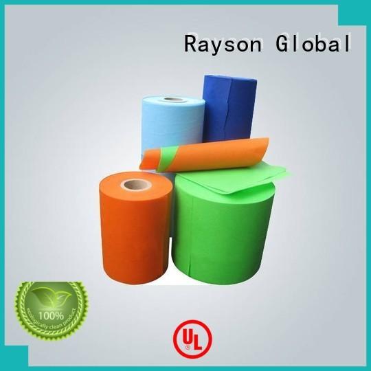Rayson non-tissé, ruixin, enviro lumineux non tissé désherbage tissu polypropylenenon pour emballage
