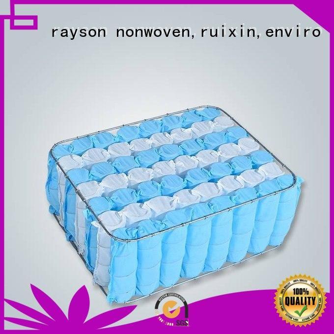 top mattress ppsb non woven weed control fabric rayson nonwoven,ruixin,enviro Brand company
