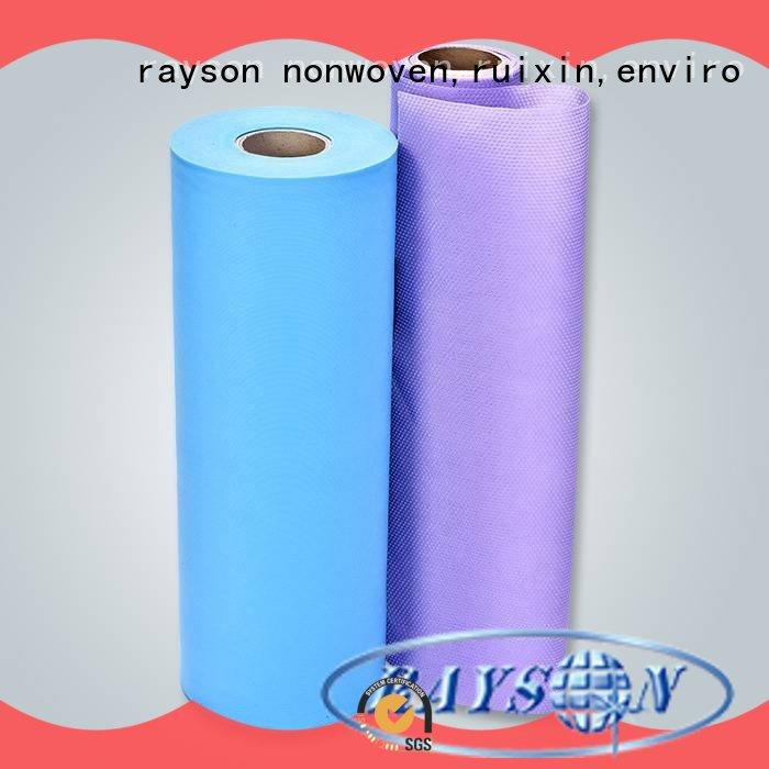 rayson nonwoven,ruixin,enviro making non woven weed control fabric wholesale for wrapping