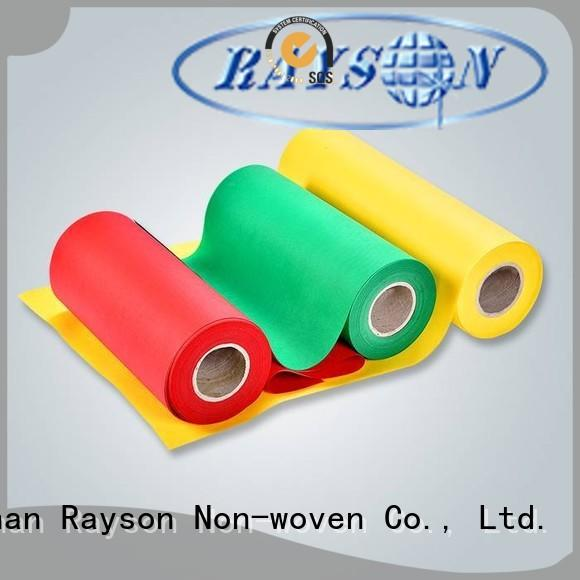 rayson nonwoven,ruixin,enviro refusing non woven weed control fabric wholesale for wrapping