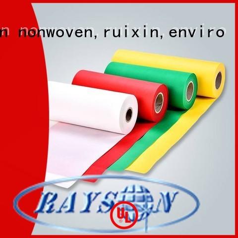 rayson nonwoven,ruixin,enviro Brand textile sesamoid custom nonwovens companies