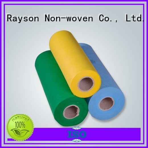pvc Custom 80cm non woven weed control fabric hydrophobic rayson nonwoven,ruixin,enviro