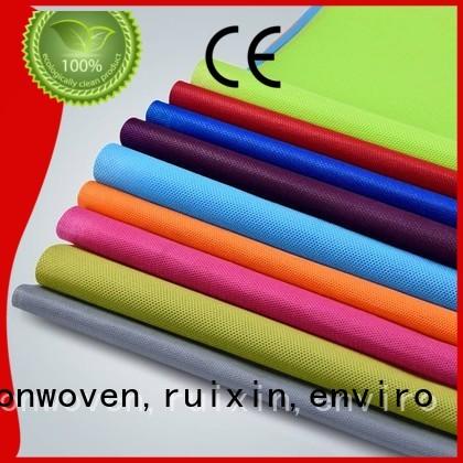 muti waterproof non woven weed control fabric bedding perforate rayson nonwoven,ruixin,enviro company