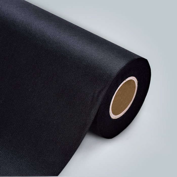 أسود اللون الاعشاب الحاجز المشهد ب غير المنسوجة النسيج
