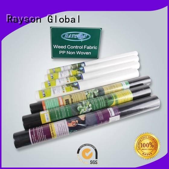 home ecofriendly rayson nonwoven,ruixin,enviro Brand weed control landscape fabric factory