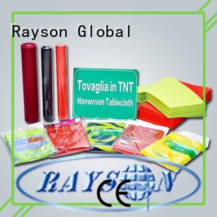 Rayson 不織布、 ruixin 、エンバイロ小売リネンナプキン直接販売屋内