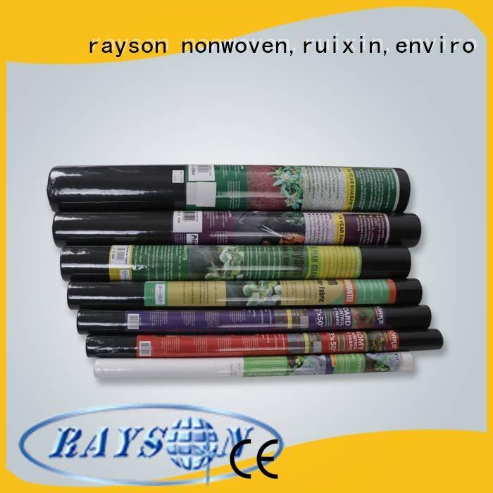 Rayson 不織布、 ruixin 、エンバイロエクストラワイド最高風景生地用にカスタマイズ包装