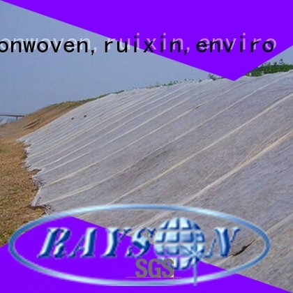 rayson nonwoven,ruixin,enviro Brand approved stable weed control landscape fabric flower supplier