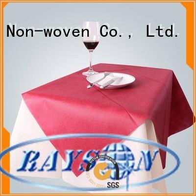 non woven cloth raysons pack non woven tablecloth rayson nonwoven,ruixin,enviro Brand