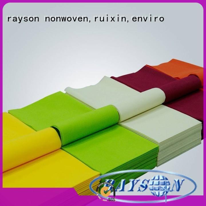 Rayson 不織布、 ruixin 、エンバイロ標準宴会テーブルクロスシリーズ屋外