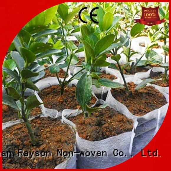 durable aging row guarantte rayson nonwoven,ruixin,enviro Brand biodegradable landscape fabric supplier
