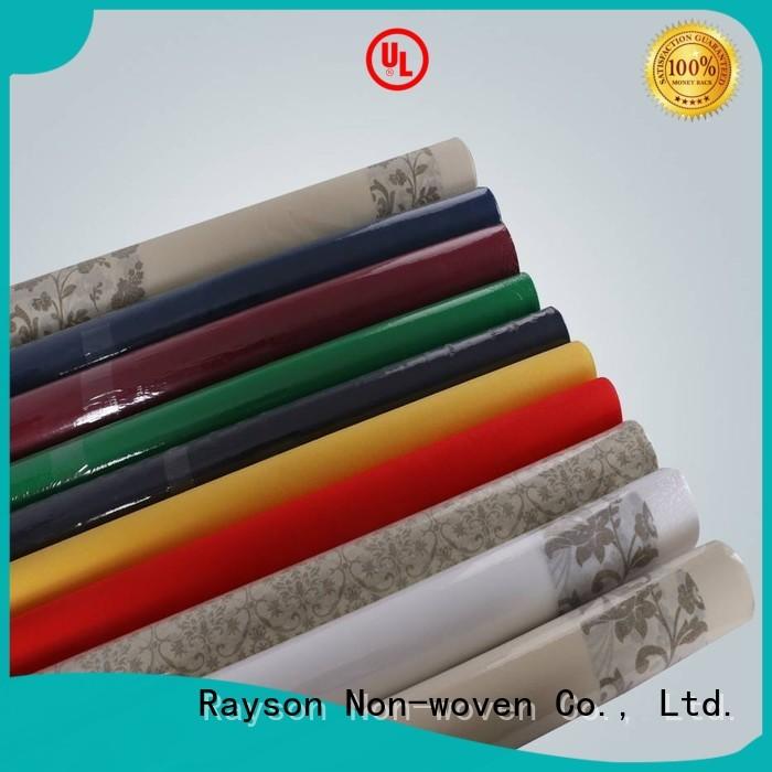rayson nonwoven,ruixin,enviro Brand eco 50gr non woven cloth small