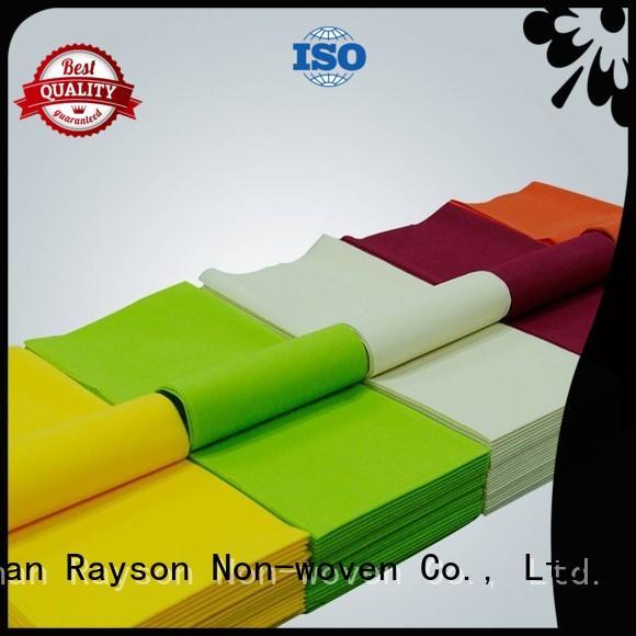 pack 60g resturant non woven tablecloth rayson nonwoven,ruixin,enviro Brand