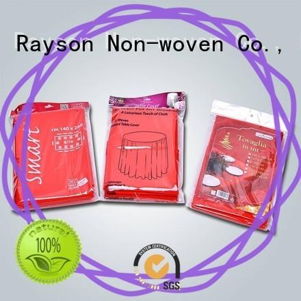 Rayson non-tissé, ruixin, enviro 1m x 1m petite nappe personnalisé pour nappe