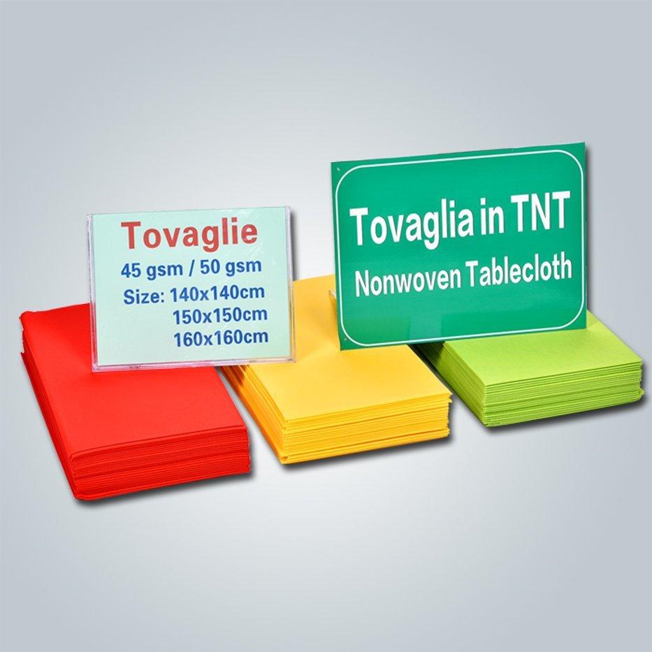 Italien-Markt verfügbaren Tabelle Tuchgewebe / Spunbond nicht gewebte Tischdecke
