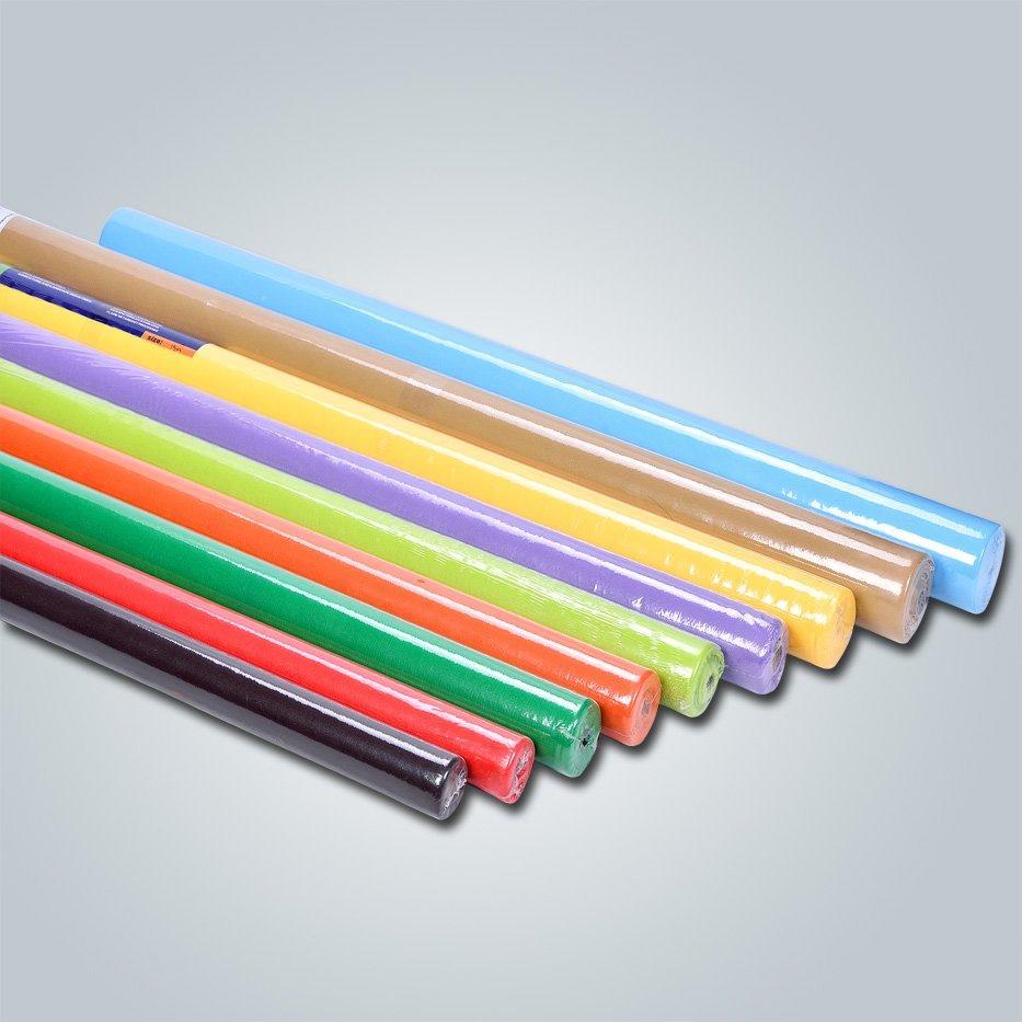 المحرز في الصين مصنع غير المنسوجة مفرش تي أن تي/جولة تشمل الجدول