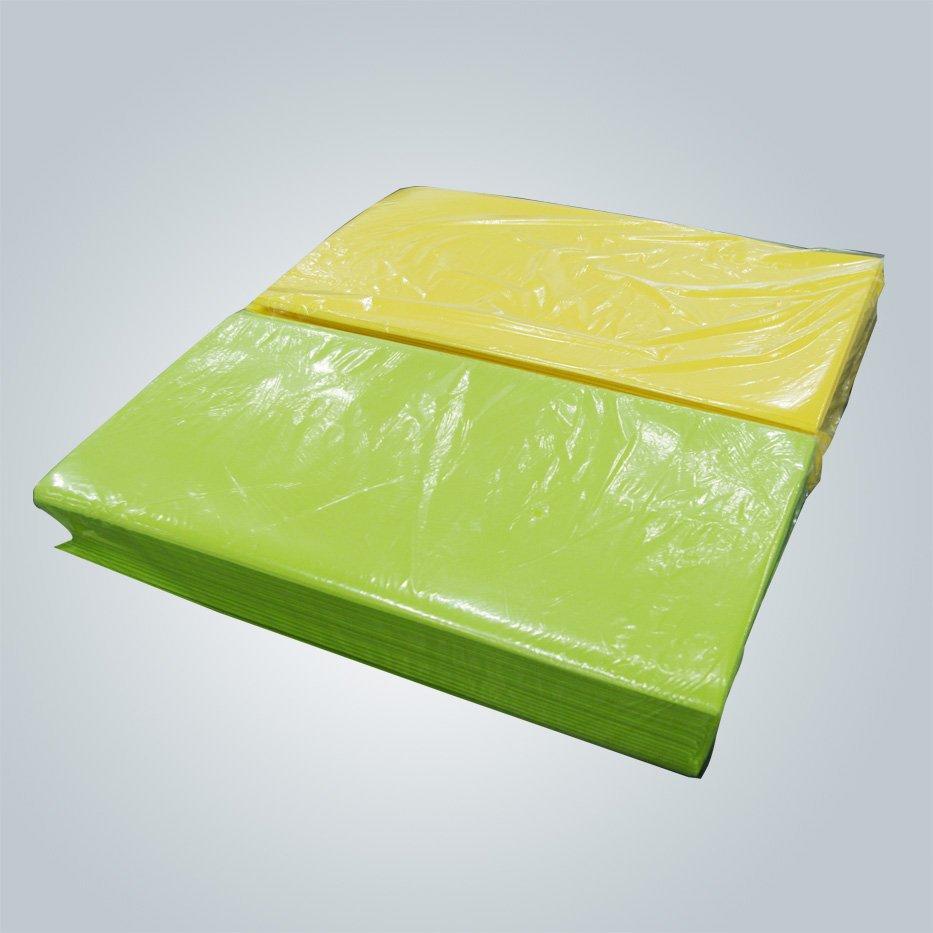 ألوان Pantone pp مفرش الأقمشة 50 جرام المتاح غير المنسوجة تابليكوفير
