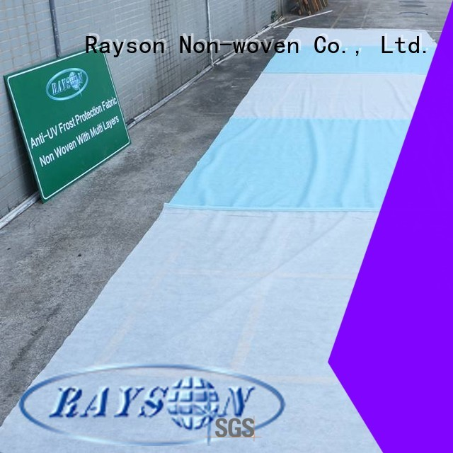 rayson nonwoven,ruixin,enviro Brand skirting water product custom weed control landscape fabric