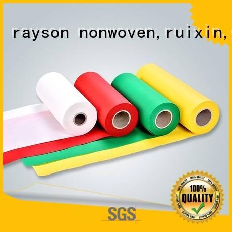 bag non woven weed control fabric muti flame rayson nonwoven,ruixin,enviro company