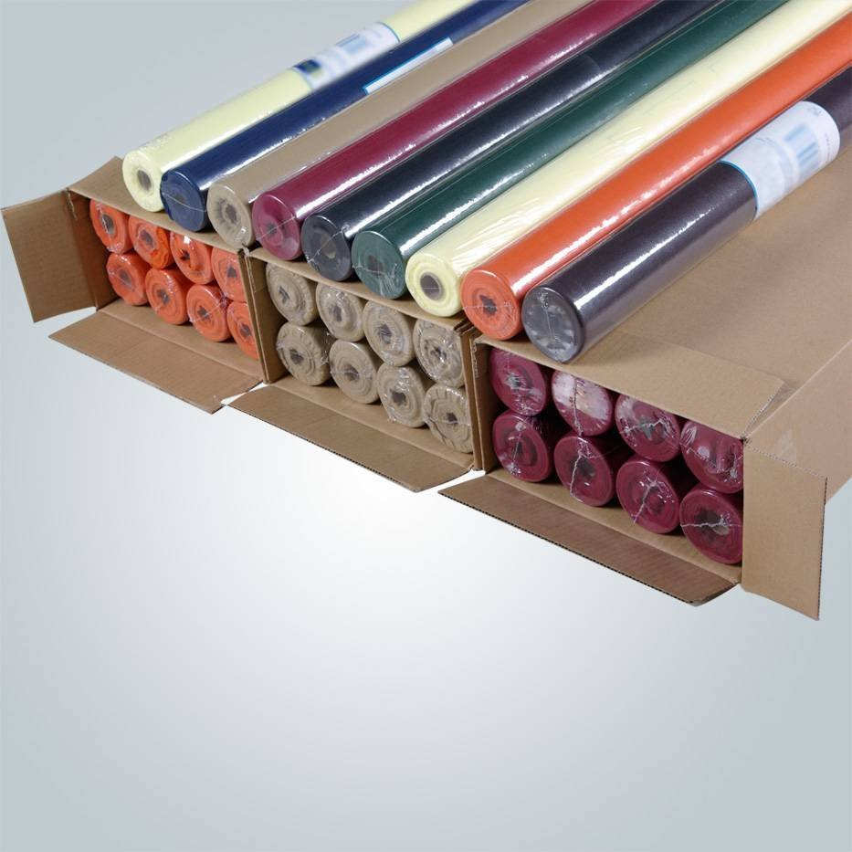Manteles polipropileno, caminos de mesa, fábrica de paño de tabla