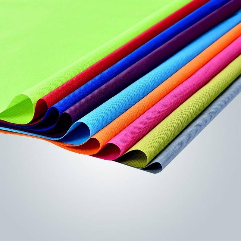 Rojo, verde y amarillo polipropileno no tejida mantel para el mercado europeo