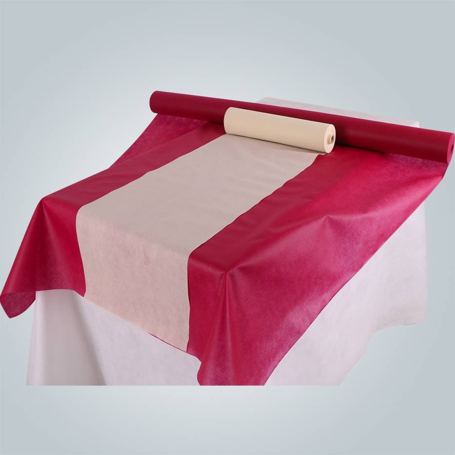 rayson nonwoven,ruixin,enviro PP nonwoven geotextile China factory made banquet use table cloth Non Woven Tablecloth image178