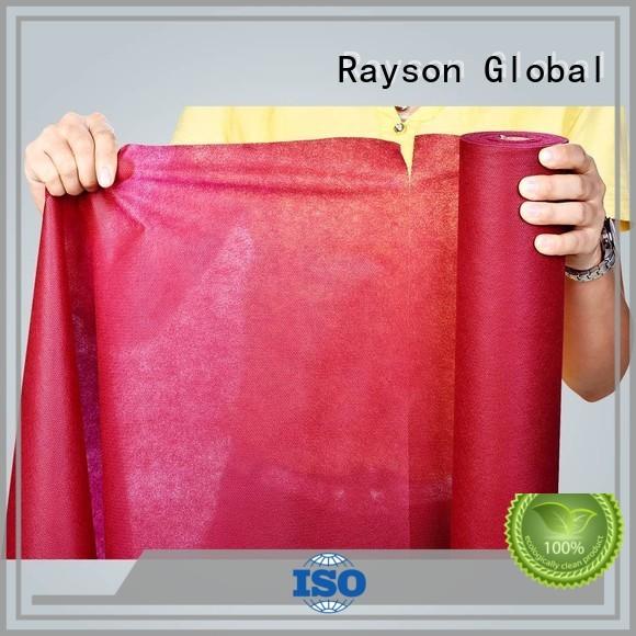 Rayson non-tissé, ruixin, enviro propre nappe rouleau directement vente pour nappe