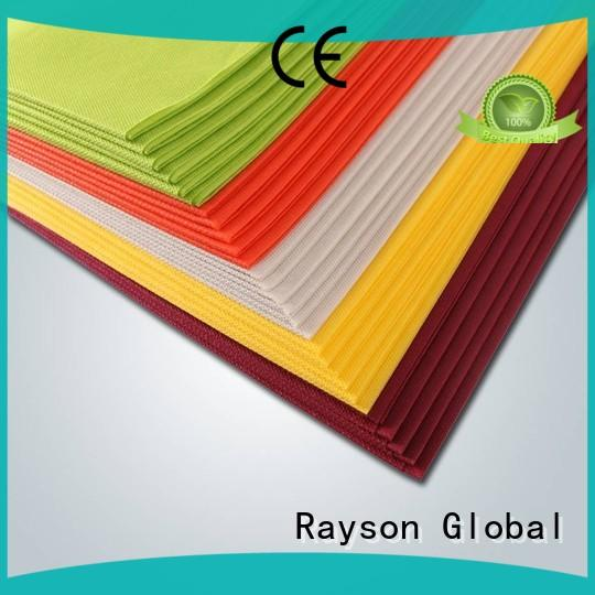 rayson nonwoven,ruixin,enviro 1mx1m satin material wholesale for indoor