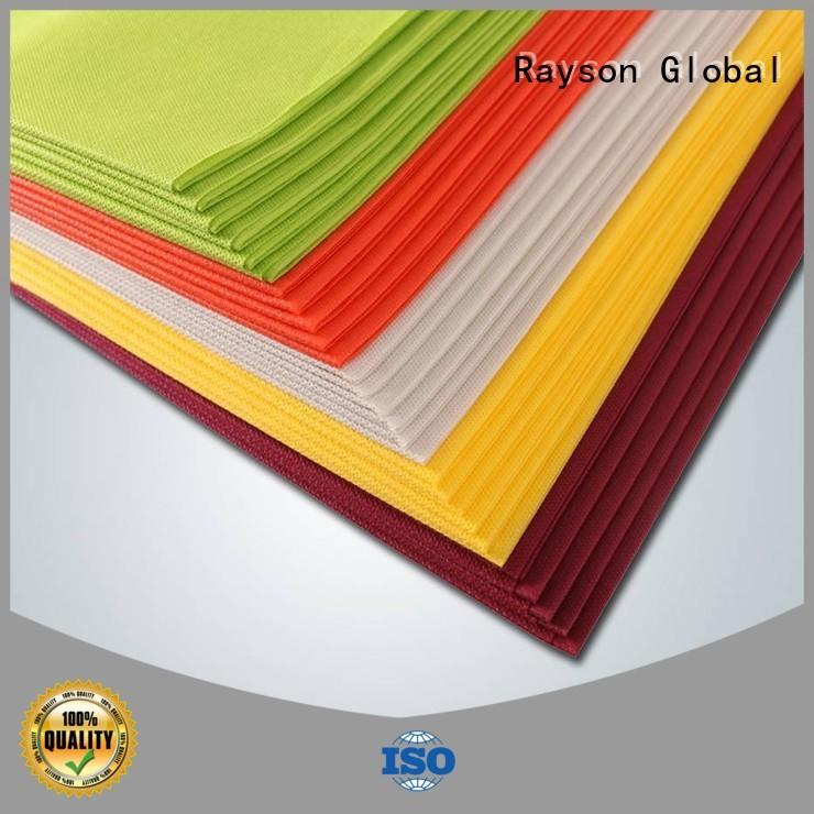24m disposable bacterial carton rayson nonwoven,ruixin,enviro Brand non woven tablecloth supplier