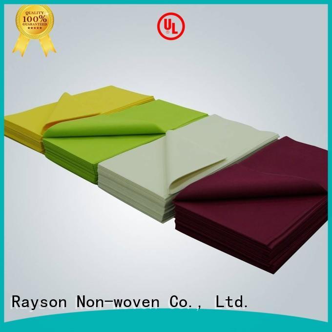 non woven cloth cutting colorfull rayson nonwoven,ruixin,enviro Brand