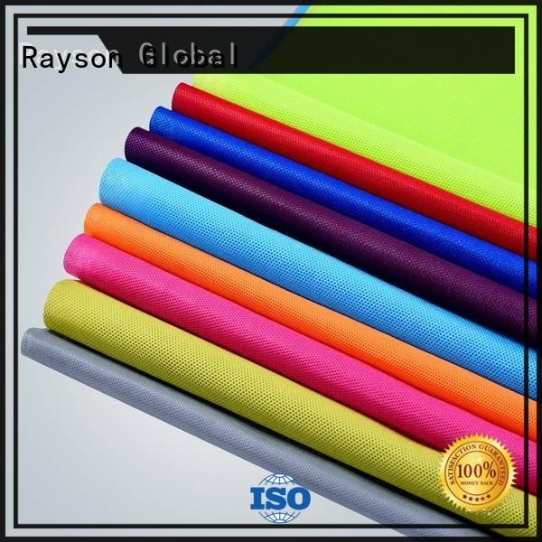 Rayson non-tissé, ruixin, enviro standard personnalisé table couvre personnalisé pour emballage