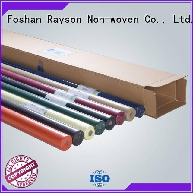 rayson nonwoven,ruixin,enviro dyed party table cloth factory for outdoor
