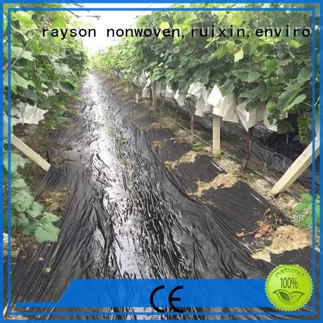 rayson nonwoven,ruixin,enviro quality best landscape fabric for weed control supplier for shops