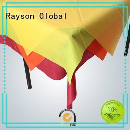 clean non woven polypropylene fabric runners directly sale for tablecloth