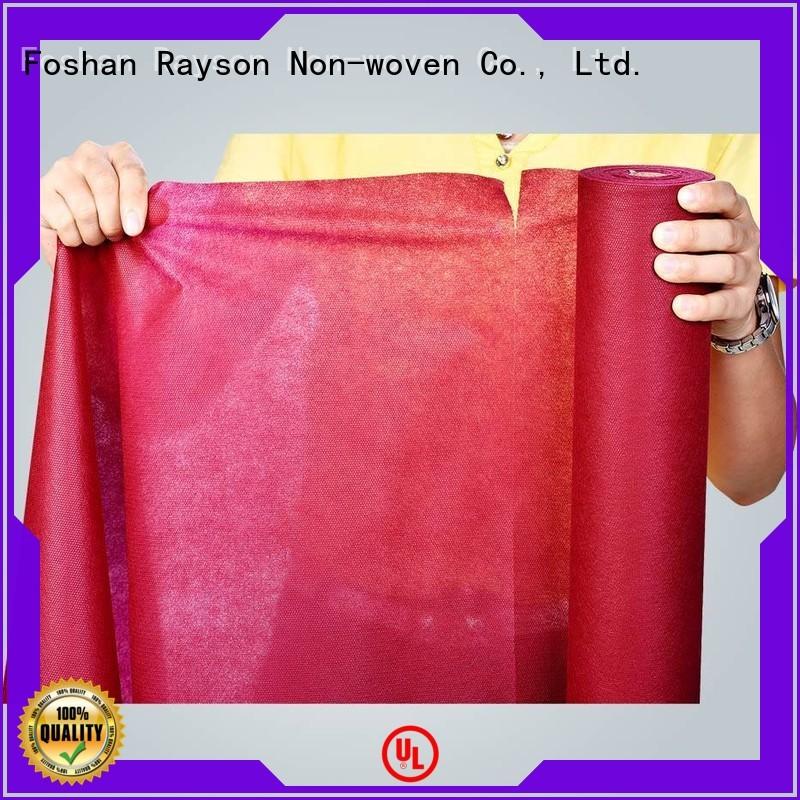 rayson nonwoven,ruixin,enviro Brand clothes base non custom non woven bag printing machine