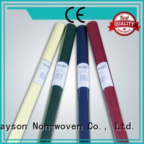 rayson nonwoven,ruixin,enviro degradable cotton tablecloths series for outdoor