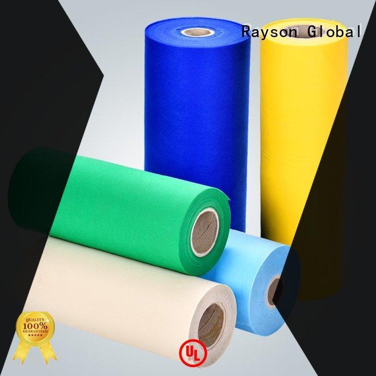 Rayson non-tissé, ruixin, enviro multi-couleur la nappe société fabricant pour le ménage