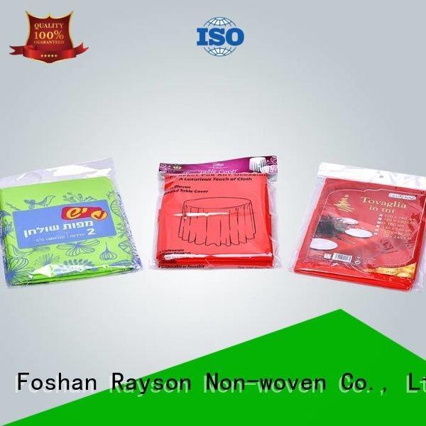 rayson nonwoven,ruixin,enviro Brand market materail raw material for non woven fabric time disposable