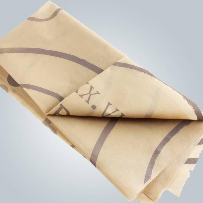 ABACTERIAL Resturant Non tessuto tovaglia monouso Pringting copertina
