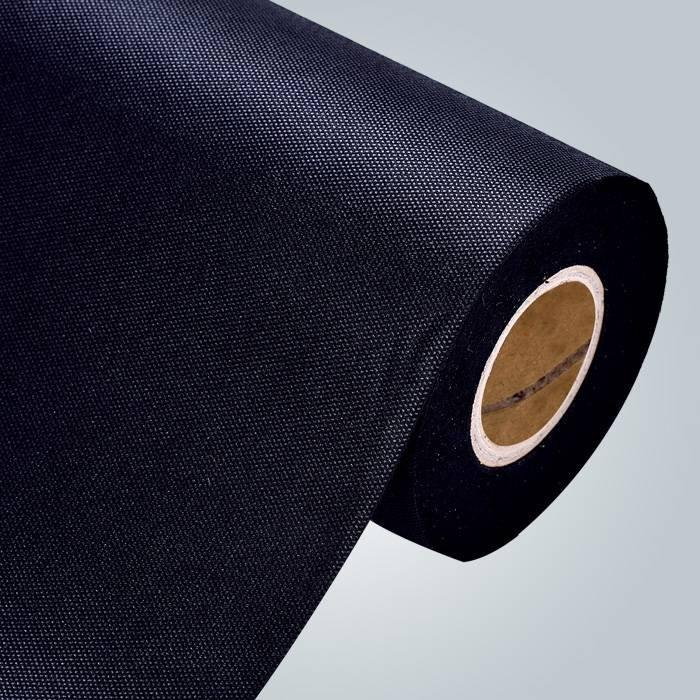 FR pp non tessuti tessuto in colore grigio traforato