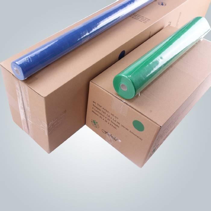 गैर बुना मेज़पोश 110 सेमी 100 सेमी टीएनटी सभी रंग डिब्बों में पैक