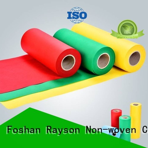 woven antiskid flowers rayson nonwoven,ruixin,enviro Brand non woven weed control fabric supplier